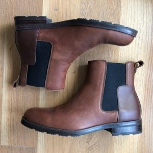 Men's Hunter Refined Leather Chelsea Boot / Size 8